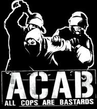 T-Shirt - ACAB - Czarny - Męski