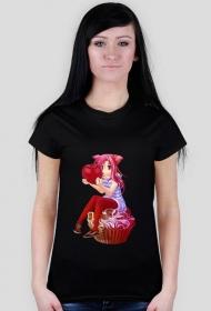 Wisienka na Kremci - Damski t-shirt [RÓŻNE KOLORY]