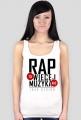 Koszulka Damska - Rap To Więcej Niź Muzyka