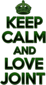 Keep Calm and love joint (woman)