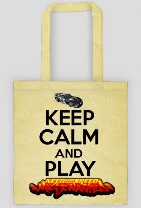 Keep Calm and NFS MW (eko bag)