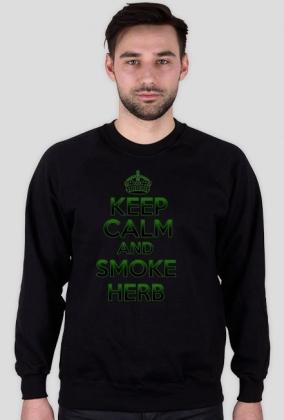 Keep Calm and Smoke Herb (man)