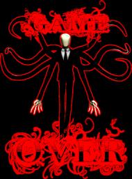 Slender - GameOver - Koszulka męska
