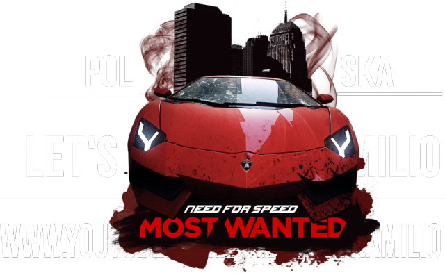 Bluza Z Kapturem Need For Speed Most Wanted