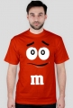 Koszulka M&M3 męska czerwona