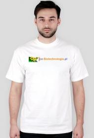 Koszulka męska z logo e-biotechnologia.pl
