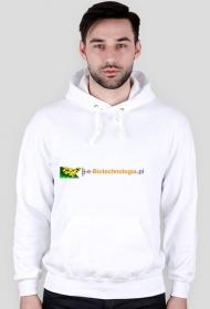 Bluza z logo e-biotechnologia.pl
