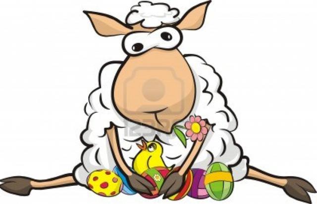 Owieczka na Wielkanoc- Męska