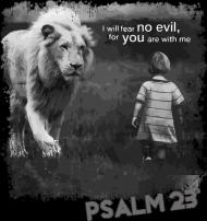 PSALM 23 Black 01 M