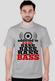 Koszulka addicted to BASS