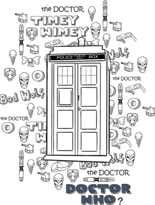 Bluza Doctor Who
