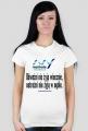 Koszulka damska - Odważni nie żyją wiecznie...