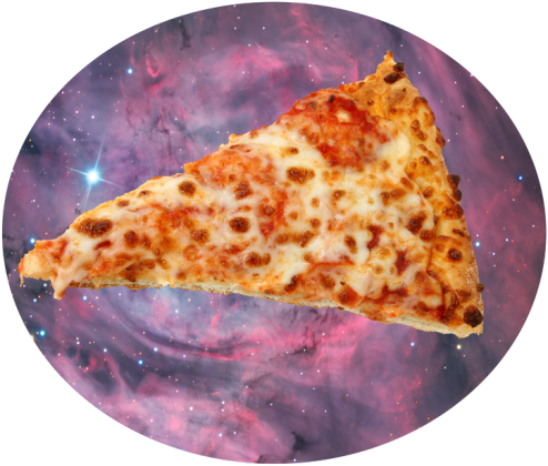 Pizza galaxy, bag