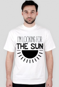 I'm looking for the sun [męska white only]