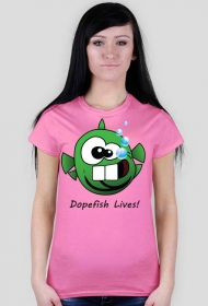 Dopefish Lives! - zielona wszystkożerna ryba