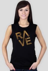 RAVE black women T-shirt.