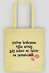FUNNY COTTON BAG