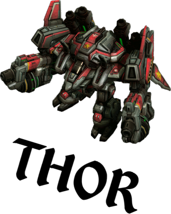 Kubek Starcraft II THOR