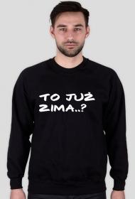 Ciepły Sweter Z Napisem To Już Zima?