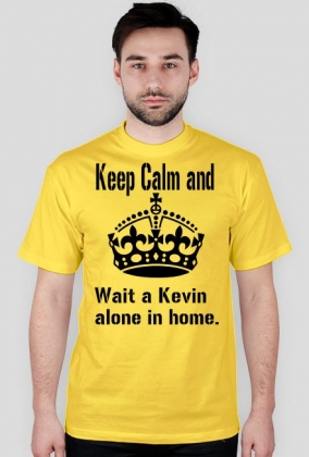 Keep Calm and wait a Kevin alone in home.