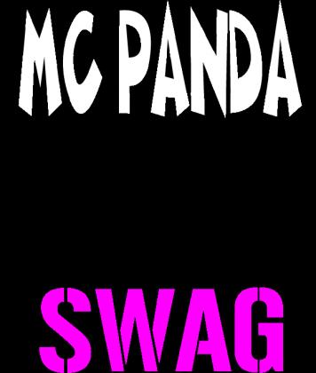 Koszulka MC PANDA SWAG