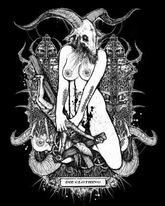 Kobieta Kozioł BLUZA MĘSKA Z KAPTUREM