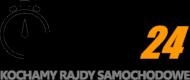 Rajdy24 naklejka (6 sztuk)