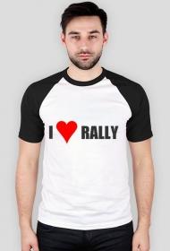I love rally (koszulka wzór 2)