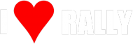 I love rally (koszulka czarna)