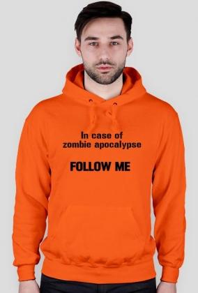 "Kangurka z kapturem ""In case of zombie apocalypse..."""