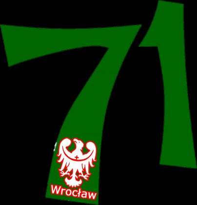 Koszulka damska Wrocław kierunkowy 71 ver. 2