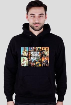 Bluza GTA V z Napisem :D