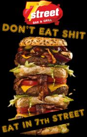 Don't eat shit...