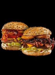 Różne kolory - Jedz burgery