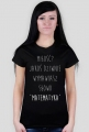 Koszulka czarna - MIŁOŚĆ? ♀