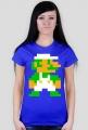 LUIGI - T-shirt damski (różne kolory) [Mario]