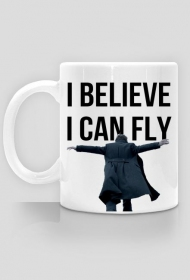 I believe I can fly - Sherlock mug