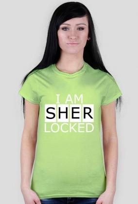 I am Sherlocked - dámské trička v Sherlock a50e6fb443