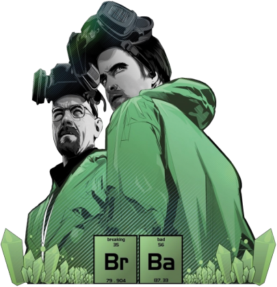 Walter White & Jesse - Breaking Bad