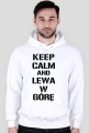 Bluza z kapturem Keep Calm And Lewa W Górę