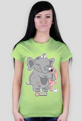 Koszulka damska - Przyjaciele. Pada