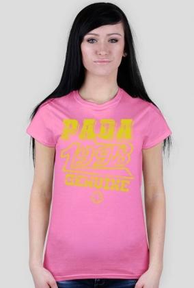 Koszulka damska - Old school. Pada