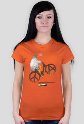 Koszulka damska - Gołąbek pokoju. Pada