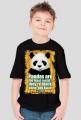 Koszulka dla chłopca - Panda. Pada