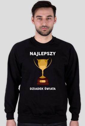 """Bluza meska czarna """"Najlepszy Dziadek Swiata"""""""