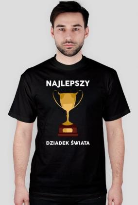 """Koszulka meska czarna """"Najlepszy Dziadek Swiata"""""""