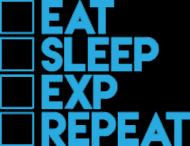 """""""EAT SLEEP"""" - poduszka"""