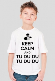 """KEEP CALM"" - przód"