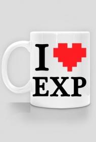 """""""I LOVE EXP"""" - kubek L"""
