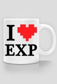 """""""I LOVE EXP"""" - kubek P"""